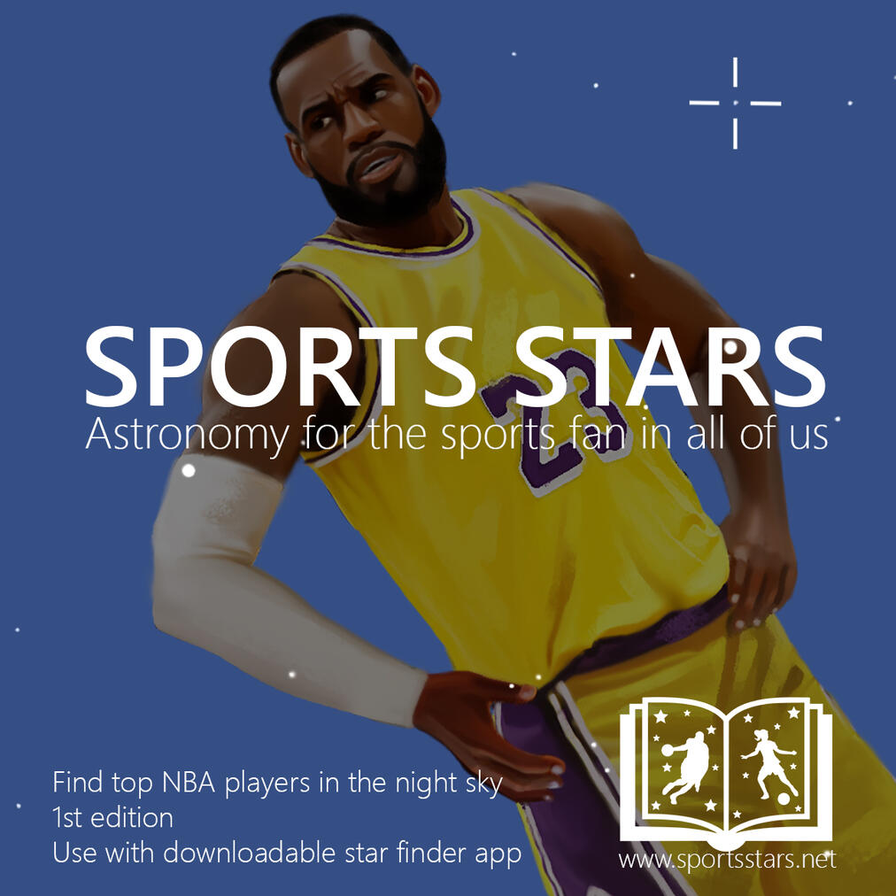 LeBron James NBA Players Children's Book